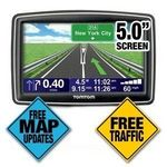 "TomTom - TomTom XXL 540TM 5"" Widescreen Text-to-Speech GPS"