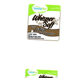 Homelife Whisper Soft Tissues with Lotion -Aloe and Vitamin E