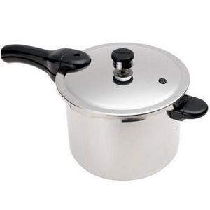 Presto 6 Quart Stainless Steel Pressure Cooker