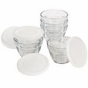 Pampered Chef 1-Cup Prep Bowl Set