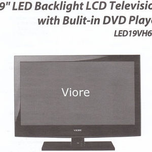 "Viore - 19"" LCD Backlight LCD Television with DVD"