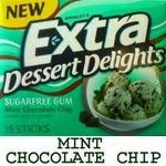 Wrigley's Extra Dessert Delights Sugarfree Gum - Mint Chocolate Chip