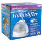 Walgreens Cool Mist Ultrasonic 2 Gallon Humidifier