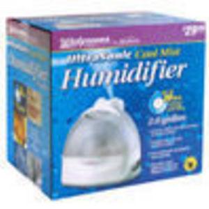 Walgreens Cool Mist Ultrasonic 2 Gallon Humidifier Reviews
