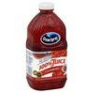 Ocean Spray 100% Juice, Cranberry, 64 fl oz (1.89 lt) (Ocean Spray)