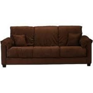 Montero Convert A Couch Sofa Bed Dark Brown