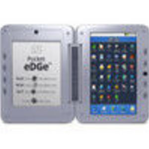 SYNNEX CORPORATION Entourage Pocket eDGe 7 eReader Android Tablet - Dual screen, USB, 3GB Internal Memory, Micro SD Car... (1009500011BLK)