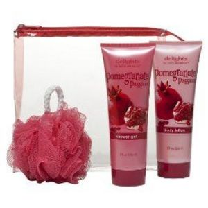 Delights Bath Set - Pomegranate Passion (4-piece)