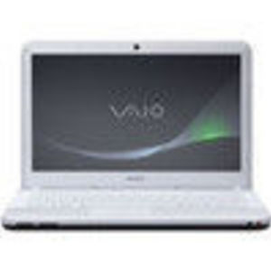 Sony VAIO EA Series White Notebook Computer - VPCEA3BFX/WI