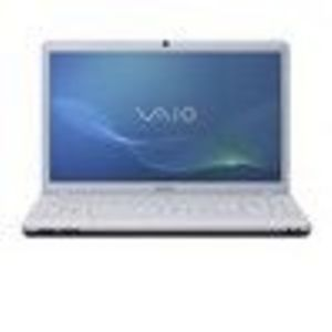 Sony VAIO Series White Notebook Computer - VPC