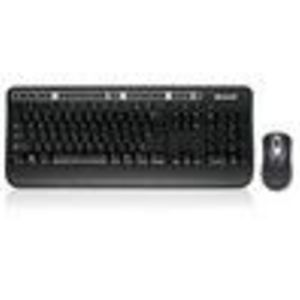 Microsoft ZHA-00001 Wireless Media Desktop 1000 (Black) Mouse