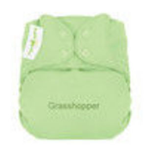 bumGenius Organic One Size Cloth Diaper Snap Closure - Grasshopper
