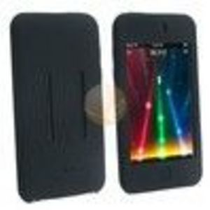 Eforcity Black Silicone Skin Case Shield (303534) for Apple iPod Touch iTouch 1st / 2nd / 3rd Gen Generation