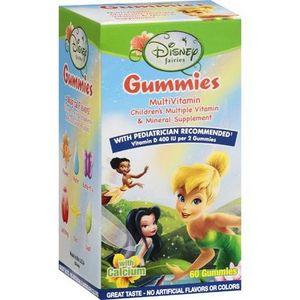 Disney Fairies Gummies MultiVitamin