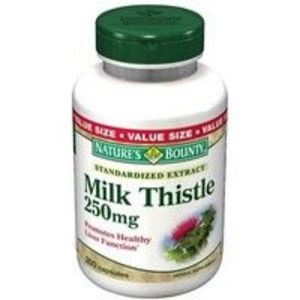 Nature's Bounty Milk Thistle 250 mg Capsule