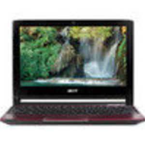 Acer Aspire AO533-13083 10.1-Inch Netbook - Glossy Red (LUSC20D011)