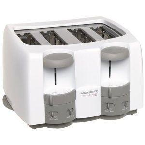 Black & Decker Toast it All 4-Slice Toaster