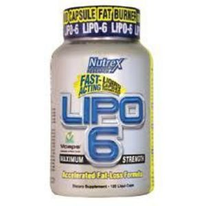 Nutrex Research LIPO-6 Maximum Strength Fat-Loss Formula
