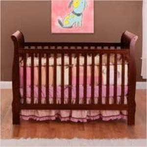 Bsf Baby 4 In 1 Sleigh Crib Changing Table And Dresser
