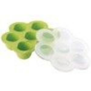 Kids Feeding Accessories: Kids Beaba Food Storage Container, Green Portion Storage Tray