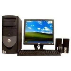 Dell 3.0 Ghz. GX Computer with Dell LCD Flat Monitor, PC Desktop