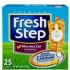 Fresh Step Premium Scoopable Cat Litter for Multiple Cats