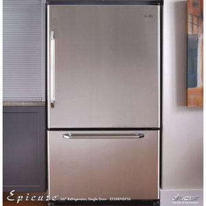 Dacor 19.8 cu. ft. Bottom-Freezer Refrigerator EF36LNFSS