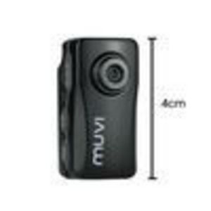 Veho VCC-004-ATOM Muvi Atom Super Micro DV Camcorder Black (Inc Sports Pack)