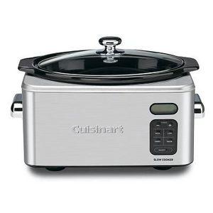 Cuisinart Coffee Maker Very Slow : Cuisinart 6.5-Quart Programmable Slow Cooker PSC-650 Reviews ? Viewpoints.com