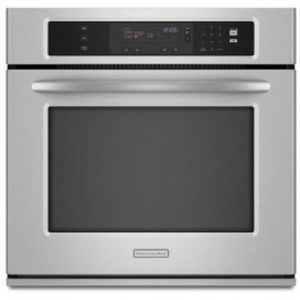 KitchenAid Architect II KEBK101SSS Electric Single Oven