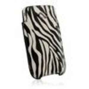 Naztech Safari V Pouch for iPhones and MED Bar Phones - Zebra