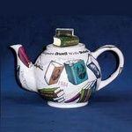 "Paul Cardew ""Novel Tea"" Booklover's Personal Teapot"