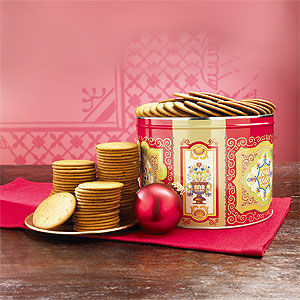 Nyaker's Gingersnap Cookie Tin