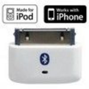 i10s Tiny Bluetooth iPod Transmitter Remote Control for iPod/iPhone/iPad with true Apple authentication. Remote con...