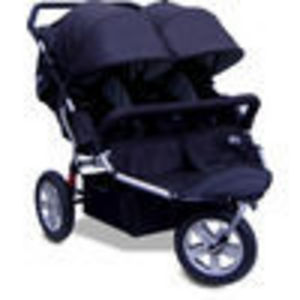 X-Tech Outdoors CityX3 Twin - Black Jogger Stroller