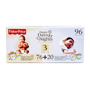 Fisher-Price Happy Days & Nights Diapers