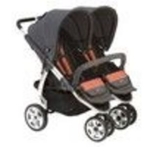 Valco Latitude Twin Standard Stroller - Clay