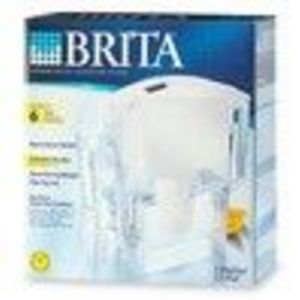 Brita 42364 Space Saver Water Filter Pitcher (Brita)