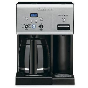 Cuisinart Coffee Maker Hot Water Review : Cuisinart Coffee Plus 12-Cup Programmable Coffee Maker with Hot Water System CHW-12 Reviews ...