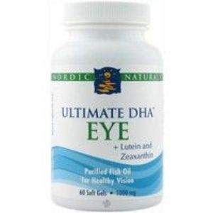 Nordic Naturals - Ultimate DHA Eye Plus Lutein and Zeaxanthin Softgels