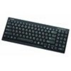 I-ROCKS RF-6520-BK ultra slim light weight 1.5 area wireless keyboard w/number pad (black)for PS3/XB... (RF-6525-BK)