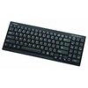 I-ROCKS RF-6520-BK ultra slim light weight 1.5 area wireless keyboard w/number pad (black)for PS3/XB... (RF-6525-BK)