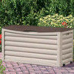 Suncast 83 gallon patio storage box