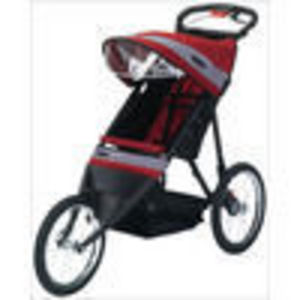 Run Around LTD 11-KS190 Jogger Stroller - Red Gray