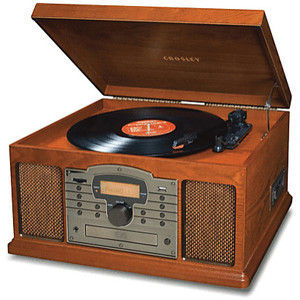 Crosley Troubadour Audio Shelf System