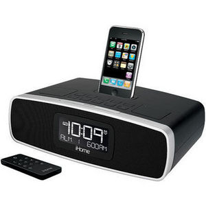 iHome - iP90 Dual Alarm Clock Radio for iPhone/iPod