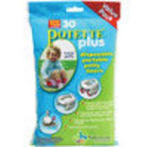 Kalencom Pottete Plus Refill Liner Value Pack - 30 ct Toilet Training