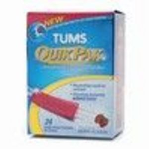 GlaxoSmithKline Tums QuikPak Instant Dissolve Powder Berry Fusion 24