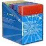 Dynex DX-DVD25B - Storage DVD slim jewel case - capacity: 1 DVD - multicolor (pack of 25) Media