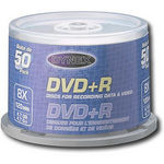 Dynex DX-DVD+R50 8x Storage Media (50 Pack)
